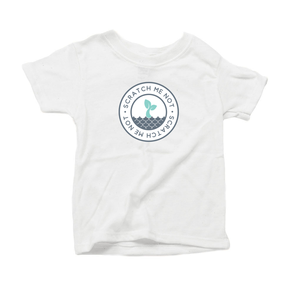 ScratchMeNot Short Sleeve tee for Toddlers