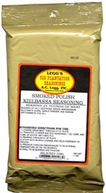 Blend # 106 - Legg's Old Plantation Smoked Polish Kielbasa Seasoning