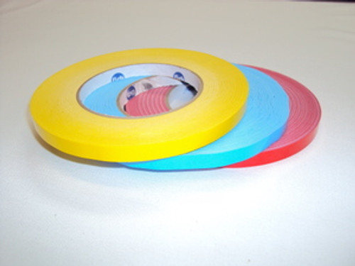 Blue Vinyl Bagging Tape For Stainless Bag Taping Machine
