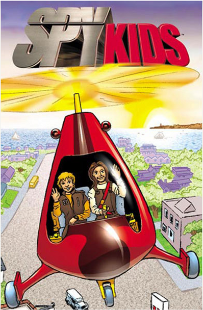 A strange flying machine falls out of the sky. Secret agents Carmen and Juni Cortez have been captured by Sky Pirates, and this SPYcopter is programmed to find help. It's up to you to use the SPYcopter to save the Cortez SPY kids™!