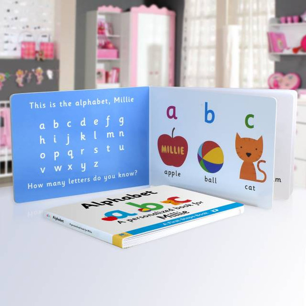 First Steps Alphabet Board Book for Toddlers