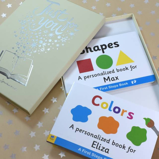 Shapes & Colors Board Book Gift Set