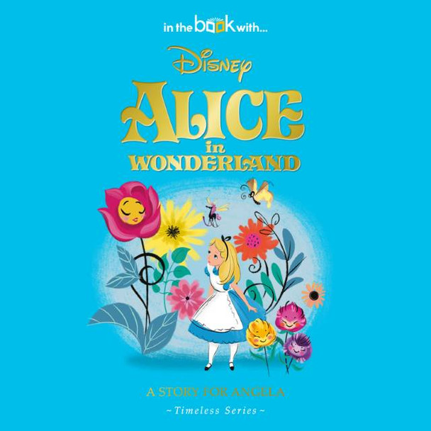 Personalized Disney Alice In Wonderland Story Book