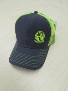 Neon Yellow Logo Hat