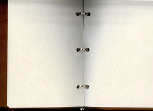 """5 x 7"""" refill pages lie flat when open"""