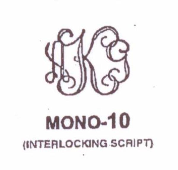 Wax Seal - Mono-10 - Monogram
