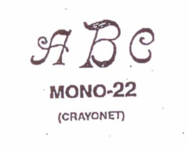 Wax Seal - Mono-22 - Monogram