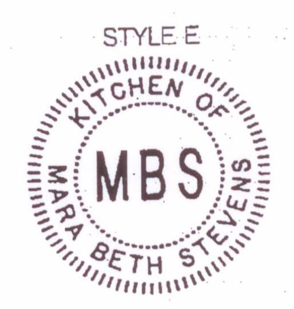 Style E - Kitchen of