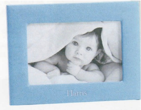 """Leather Baby Frame for 4 x 6"""" photo"""