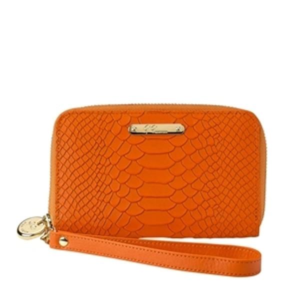 Wristcase Python Sunset Orange