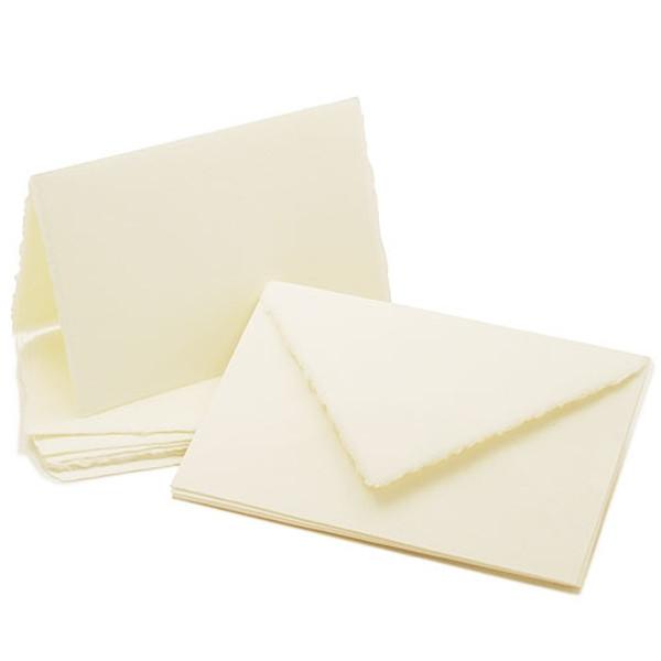 "Amalfi Folded Informal Cards 4 1/4"" x 8"""
