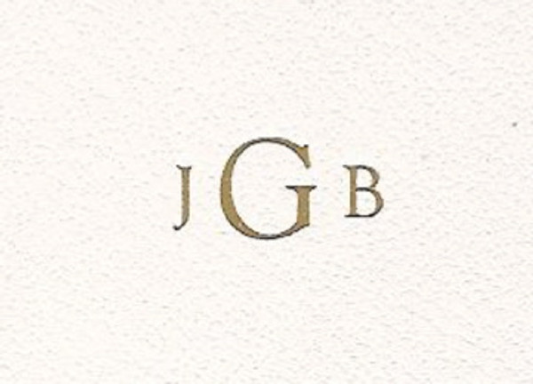 Custom monogram for Wedding Leather Guest Book