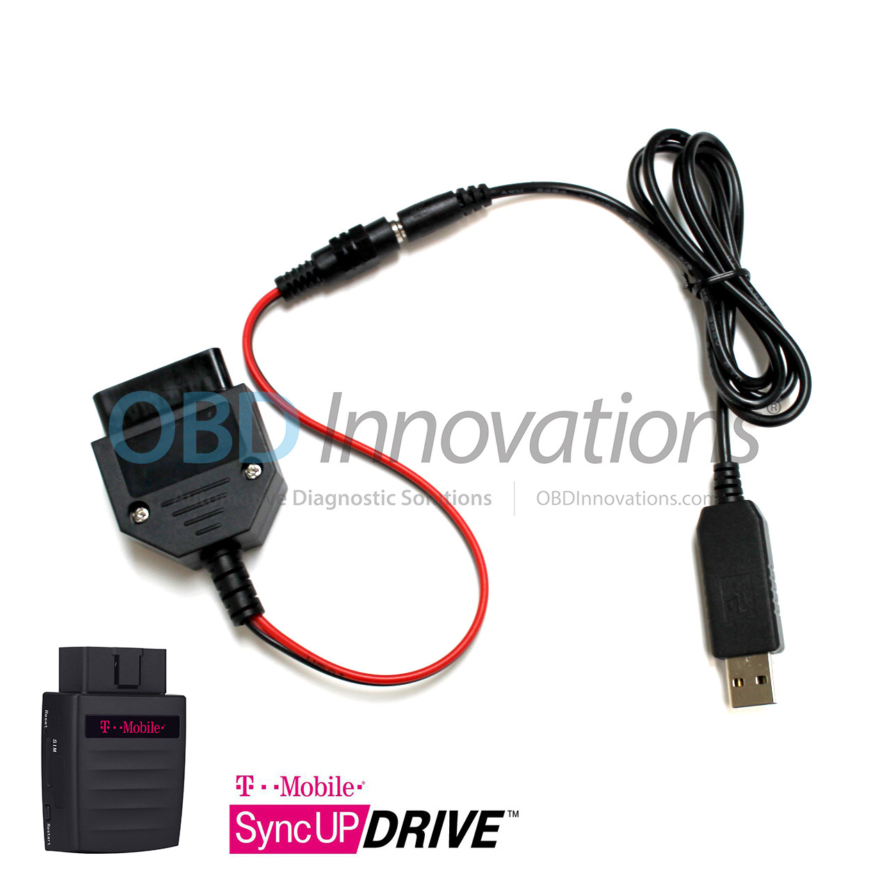 USB OBD2 Power Adapter for T-Mobile SyncUP DRIVE WiFi Hotspot