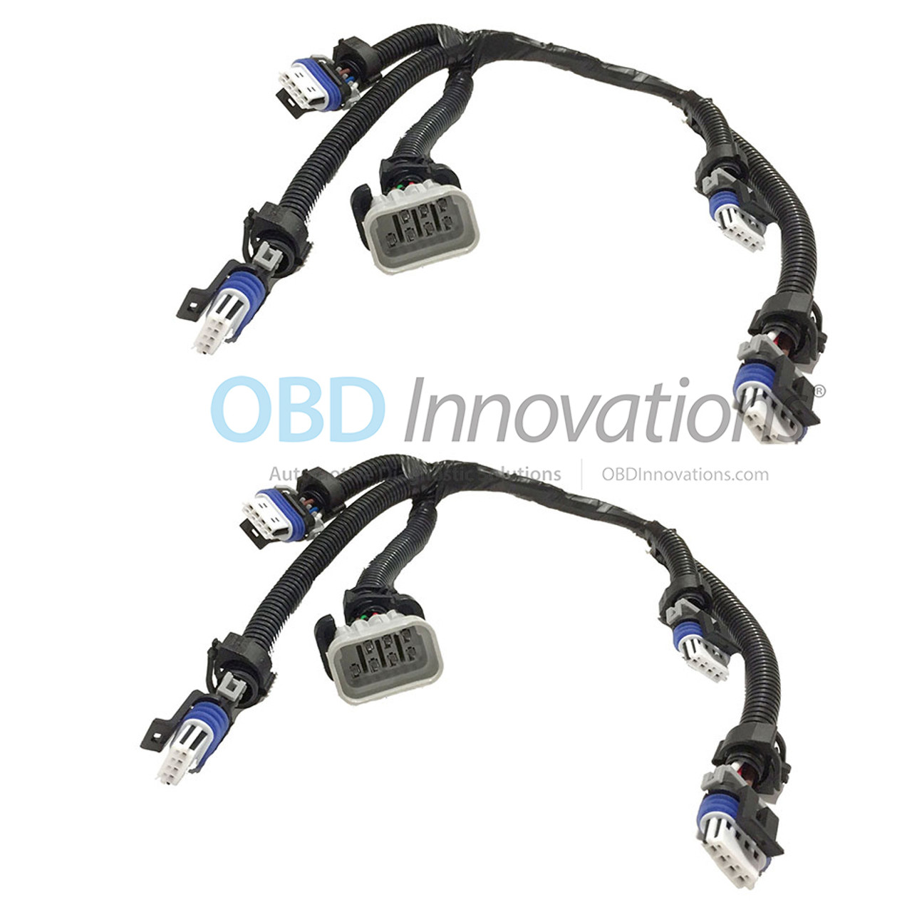 2X Pack Ignition Coil Connector Wiring Harness for GM LS2