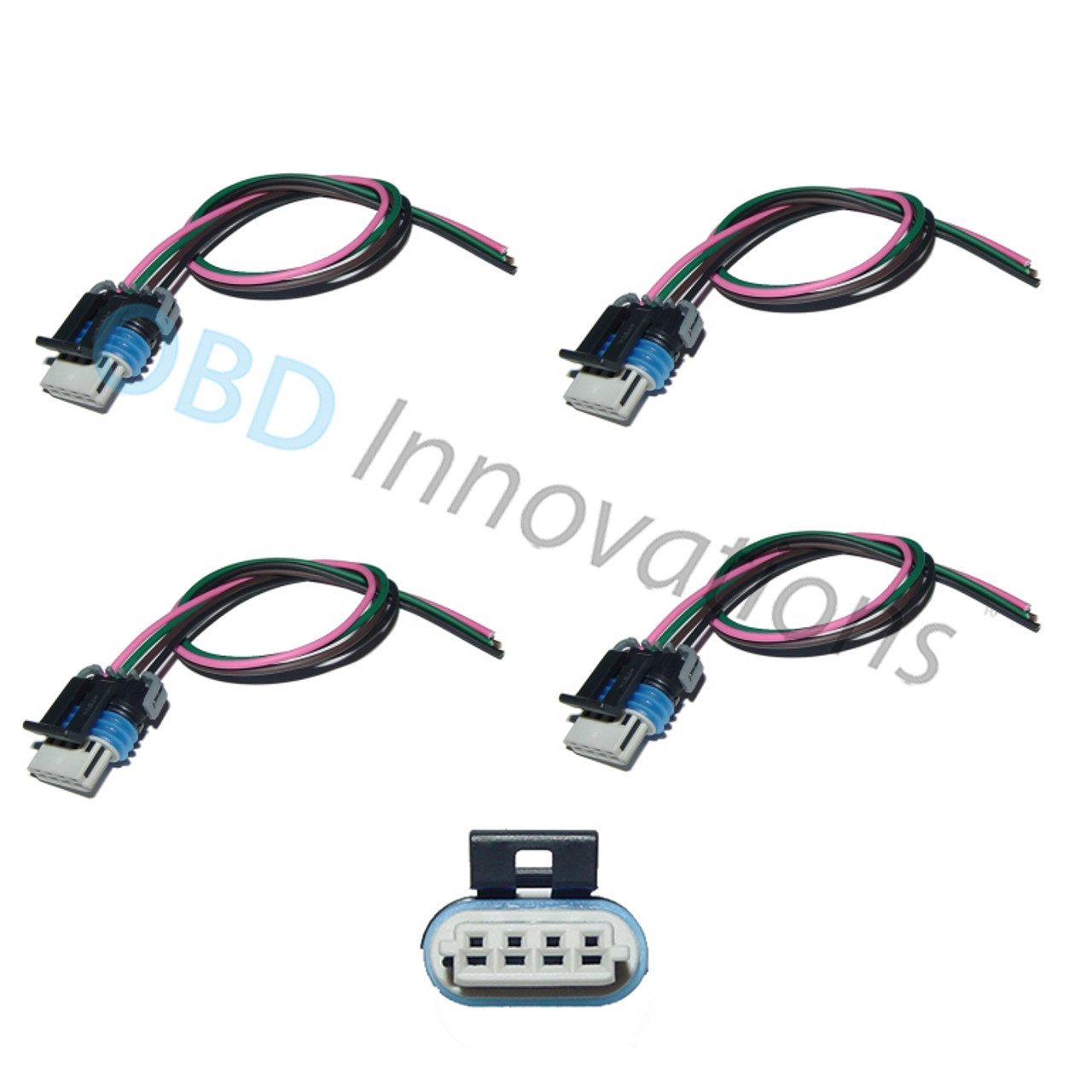 4X Ignition Coil Pack Connector Pigtail for GM LS2 LS3 LS7   OBD ...