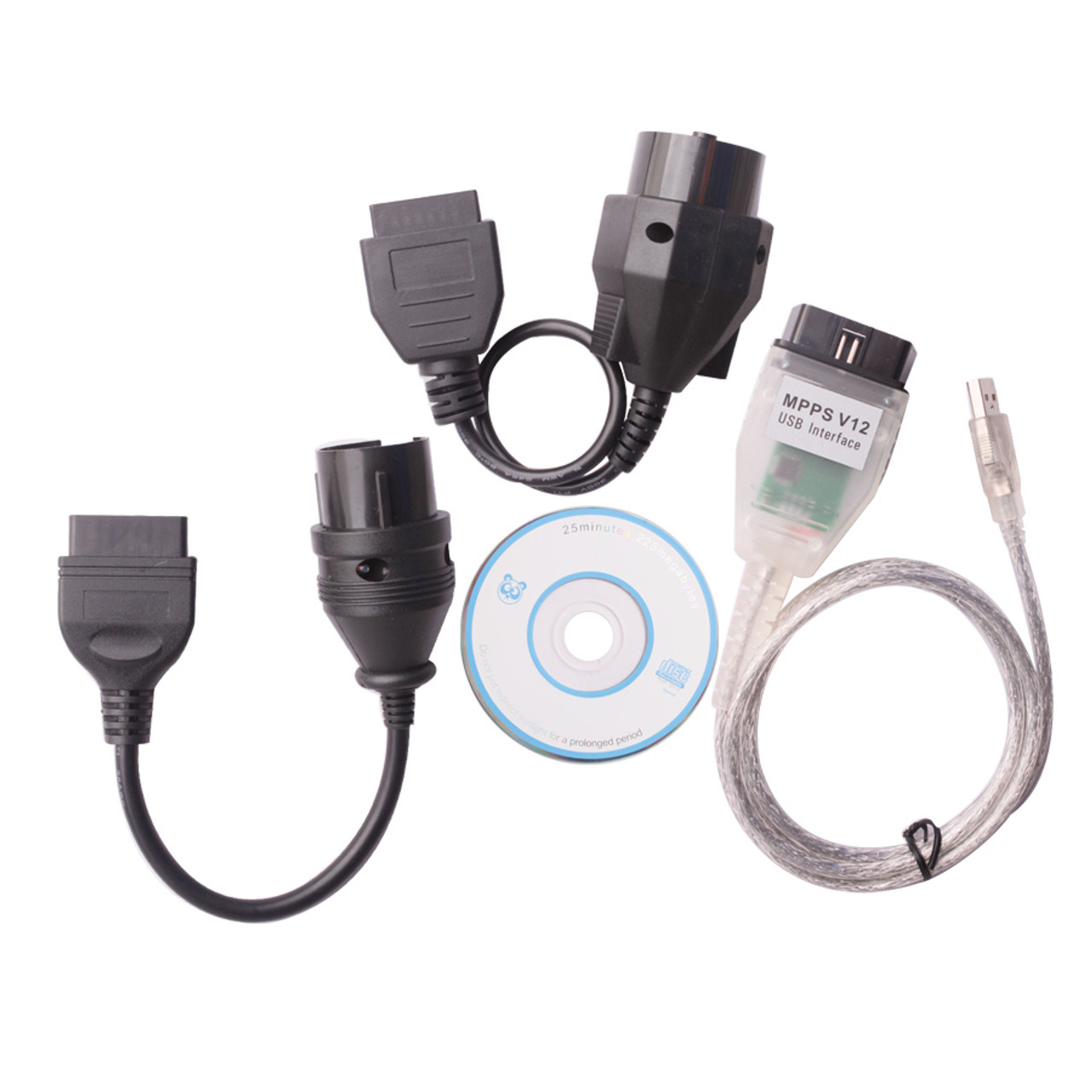 SMPS MPPS V12.06 ECU Chip Remap Tuning Cable + 20 Pin BMW & 38 Pin ...