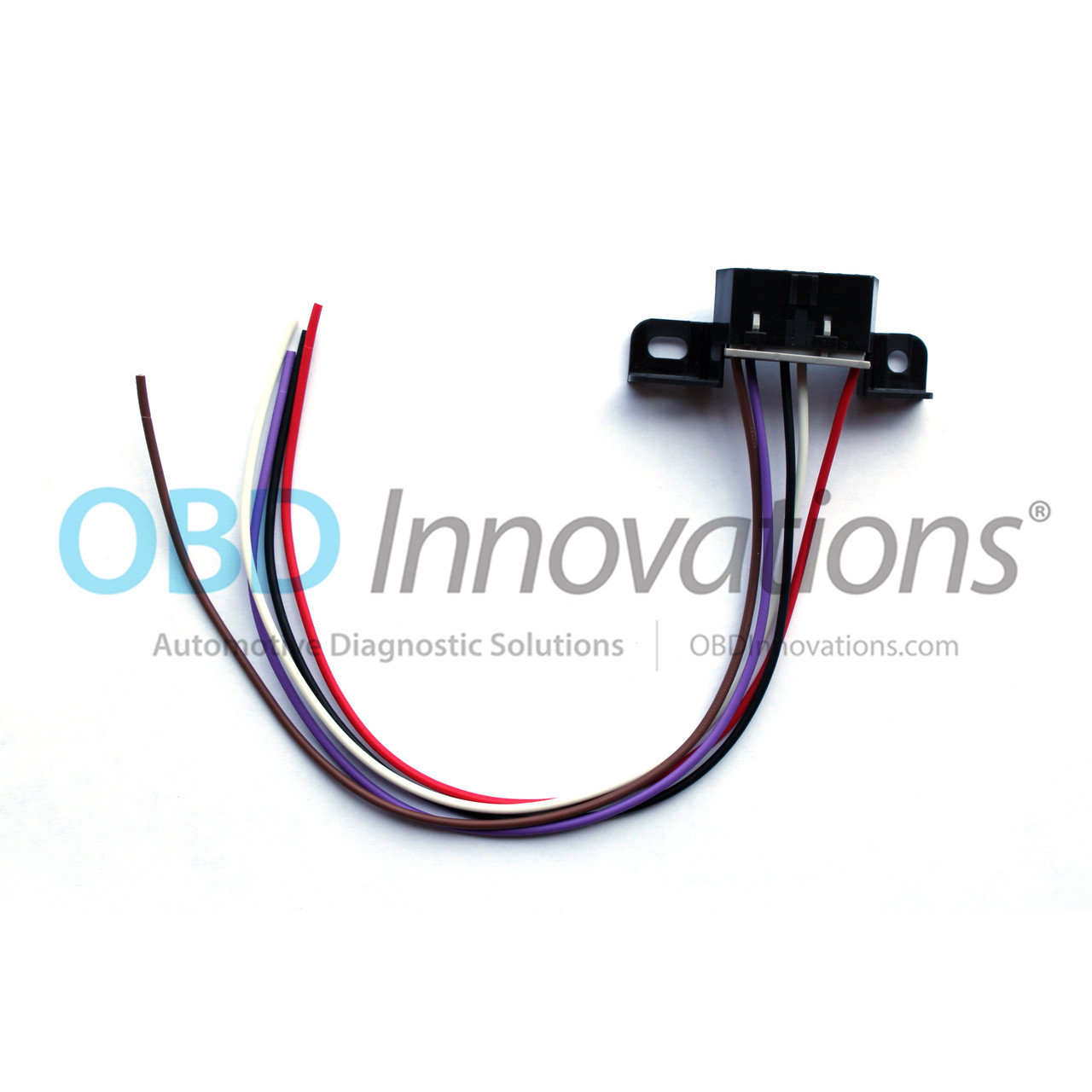 obdii obd2 j1962 aldl wiring harness connector pigtail for gm ls1 rh obdinnovations com Wiring Harness Terminals and Connectors pigtail wiring harness diagram
