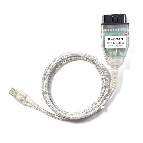 BMW D-CAN OBD2 USB INPA Cable (FTDI FT232RL Chipset) + BMW