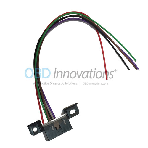 Obdii obd2 j1962 class 2 can bus wiring harness connector pigtail obd2 j1962 dlc wiring harness connector pigtail for newer obdii can bus vehicles publicscrutiny Choice Image