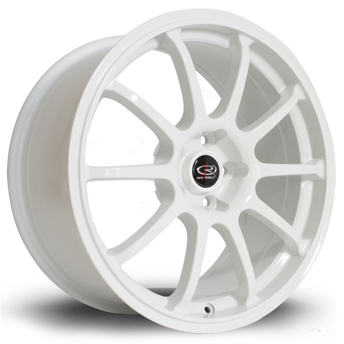 Rota Force 17x8 ET35 5x114 White
