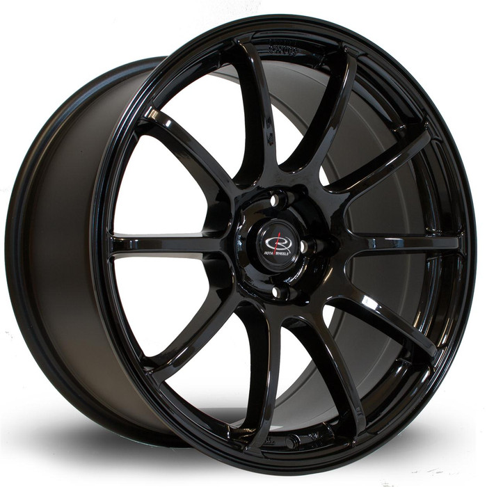 Rota Force 18x9 ET27 5x114 Black