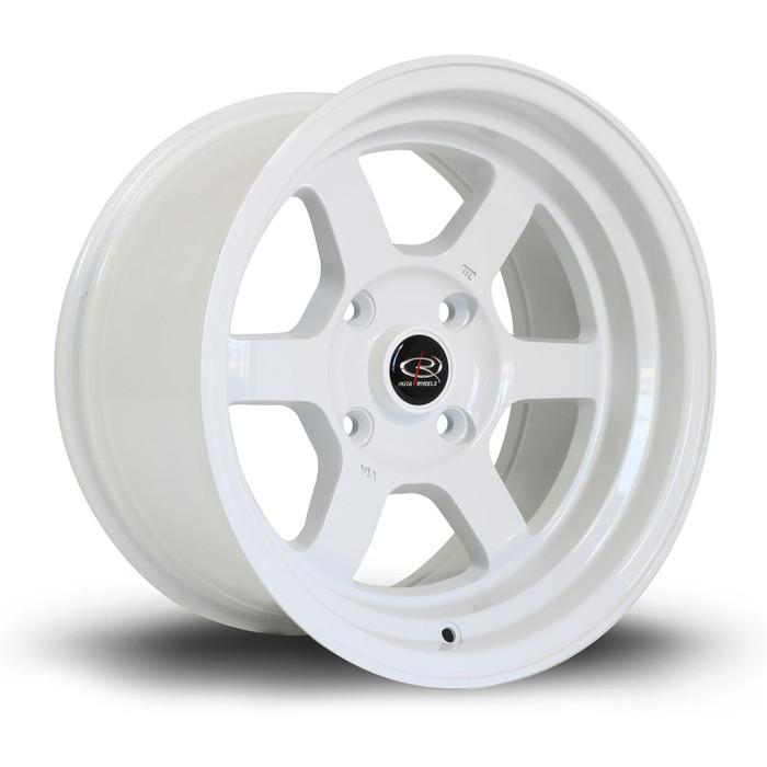 Rota Grid-V 15x8 ET0 4x114 White