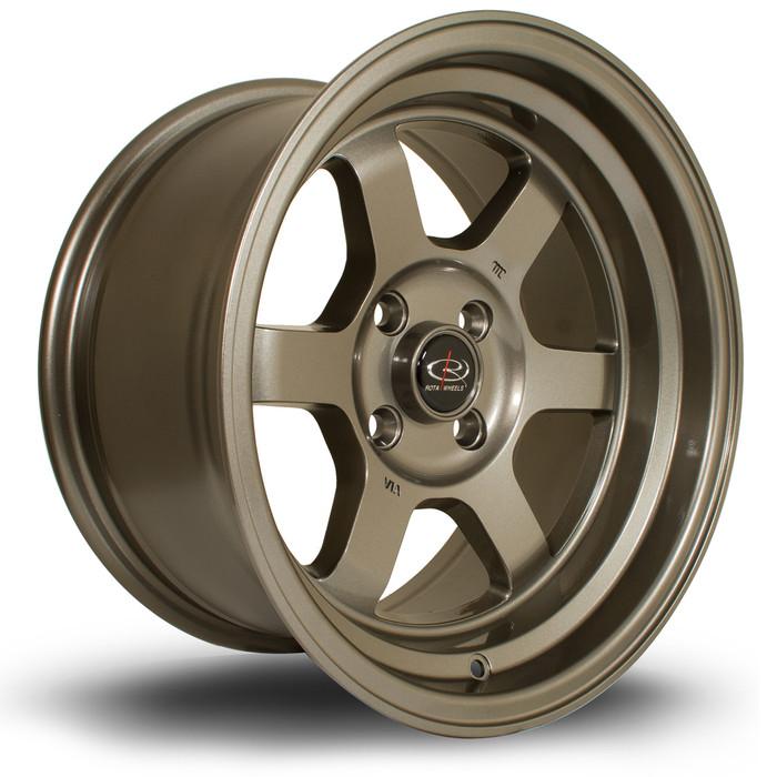 Rota Grid-V 15x8 ET0 4x100 Bronze