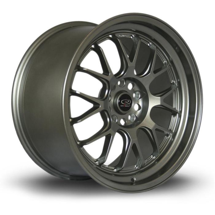 Rota MXR 18x10 ET45 5x114 Steelgrey