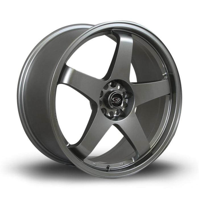 Rota GTR 19x9 ET42 5x108 Steelgrey
