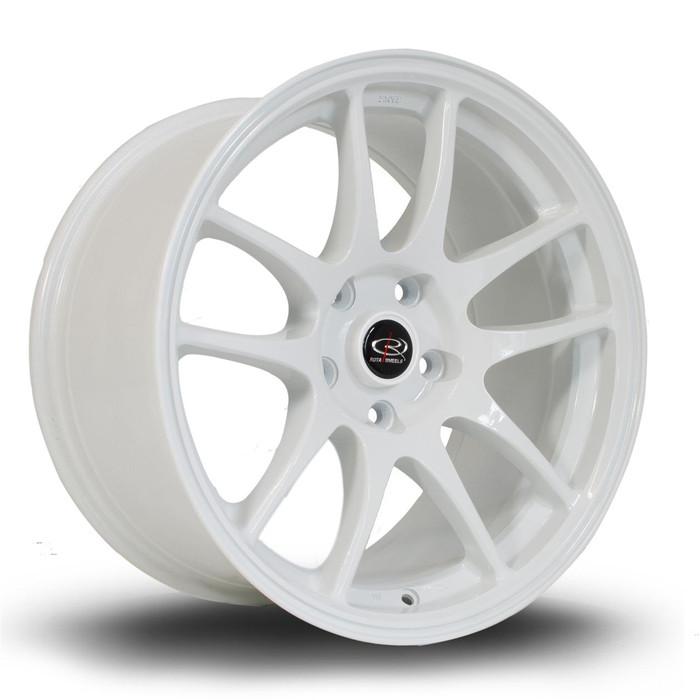 Rota Torque 17x9 ET30 5x114 White