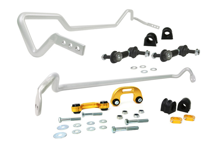 Whiteline BSK007 F and R Sway bar - vehicle kit SUBARU IMPREZA WRX STI GD SEDAN, GG WAGON MY03   10/2002-9/2003 4CYL-srbpower-com