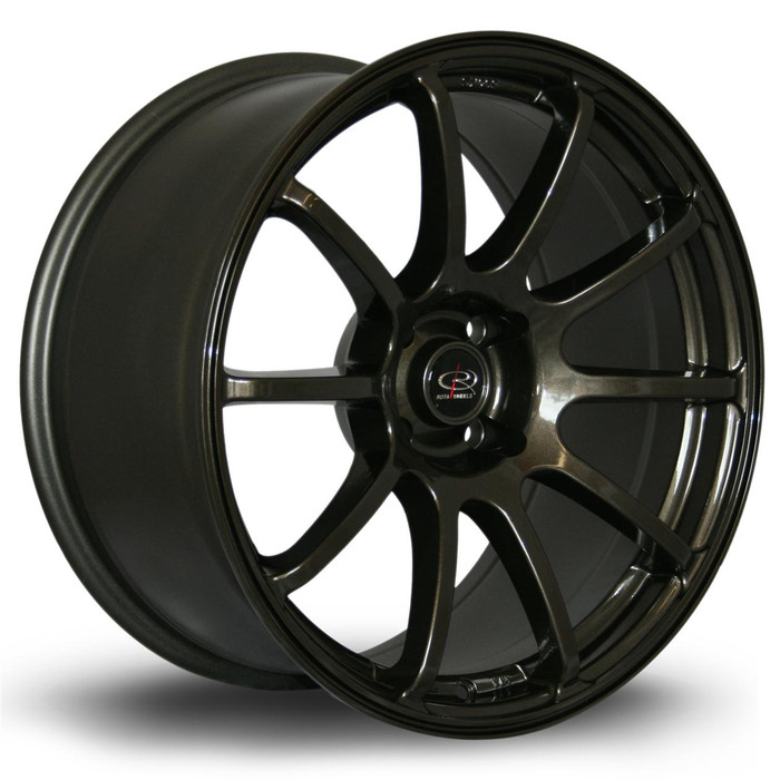Rota Force 18x9 ET20 4x108 Gunmetal srbpower.com