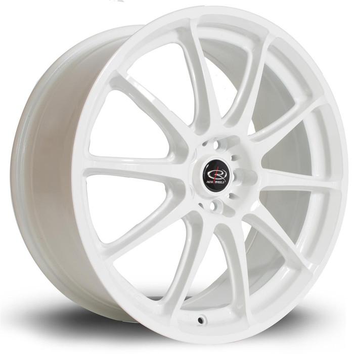 Rota Gra 18x7.5 ET48 5x100 White srbpower.com