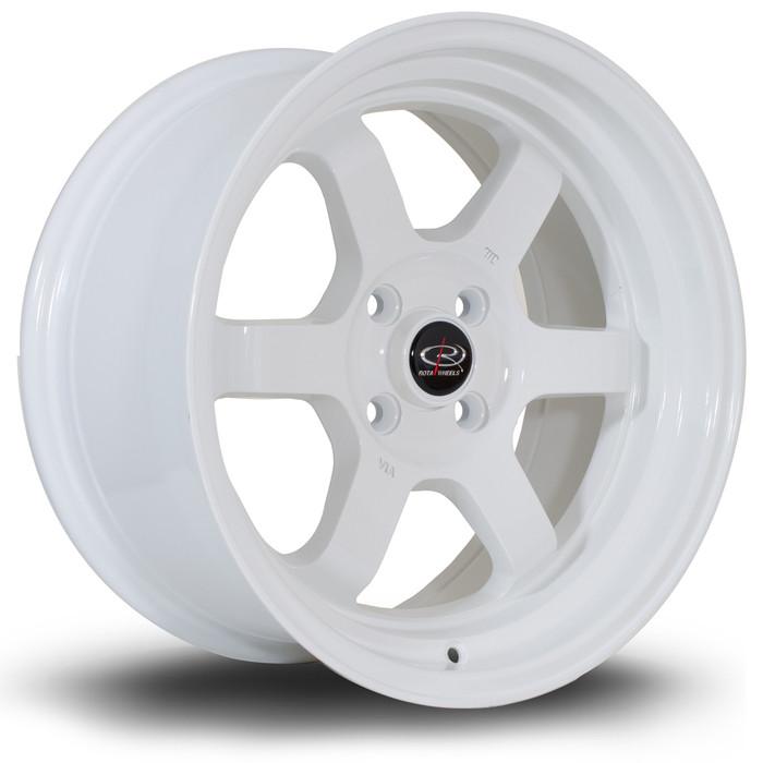 Rota Grid-V 16x8 ET20 5x100 White srbpower.com