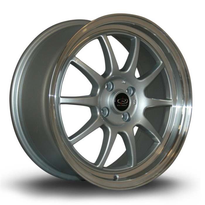 Rota GT3 17x7.5 ET45 4x100 RLSilver srbpower.com