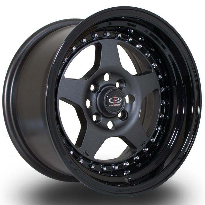 Rota Kyusha 15x8 ET0 4x114 FGMBlack srbpower.com
