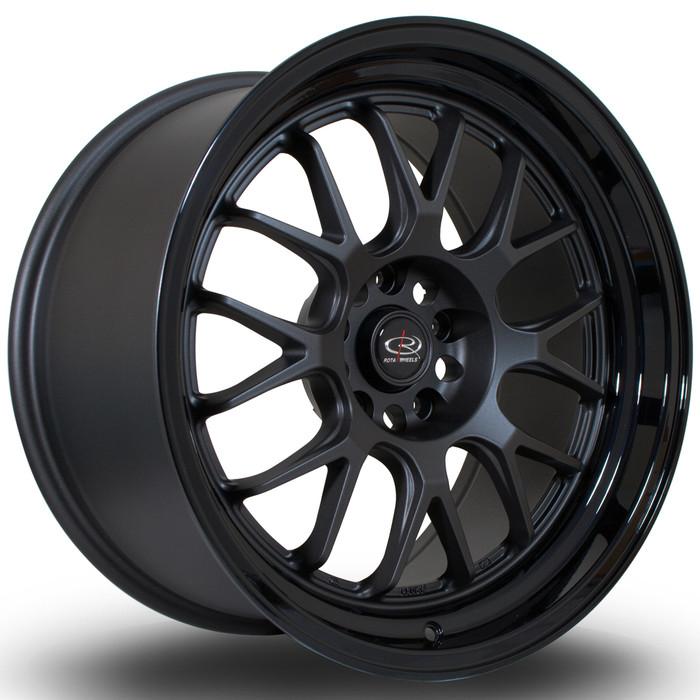 Rota MXR 18x9.5 ET20 5x114 FGMBlack srbpower.com