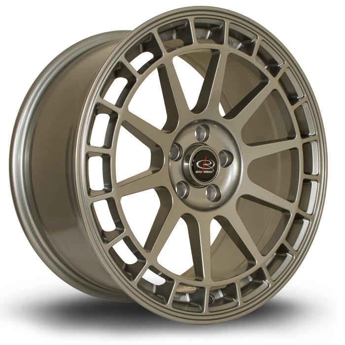 Rota Recce 17x8 ET40 4x108 Steelgrey srbpower.com