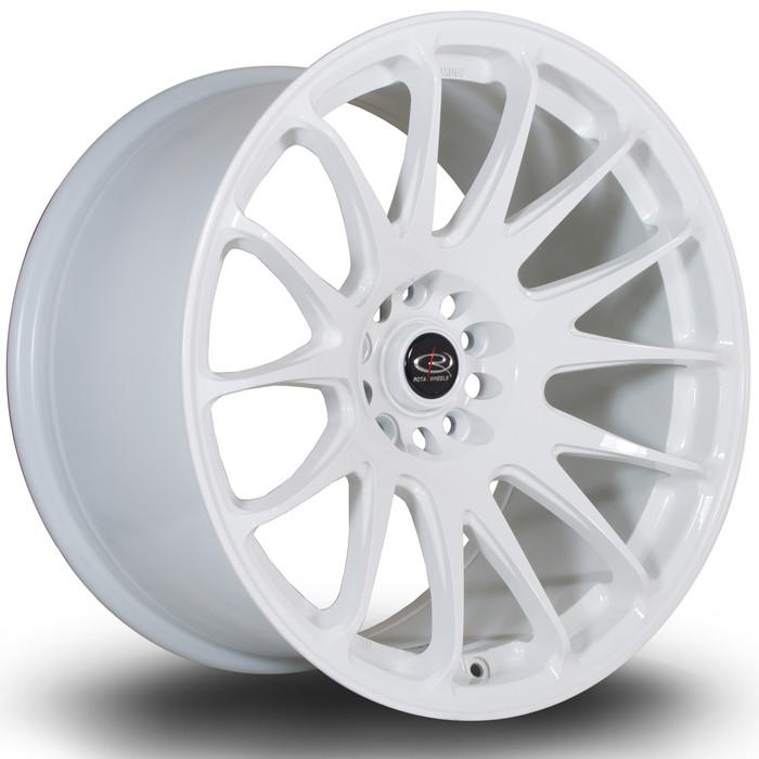 Rota Reeve 18x10 ET20 5x114 White srbpower.com