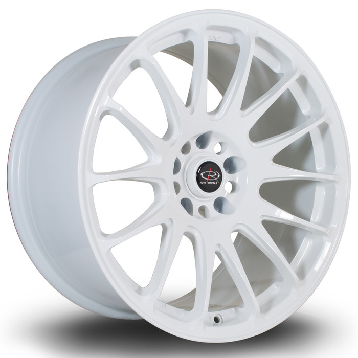 Rota Reeve 18x9.5 ET20 5x114 White srbpower.com