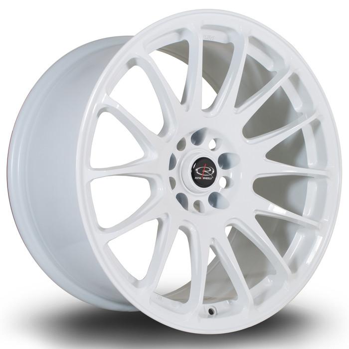 Rota Reeve 18x9.5 ET38 5x114 White srbpower.com