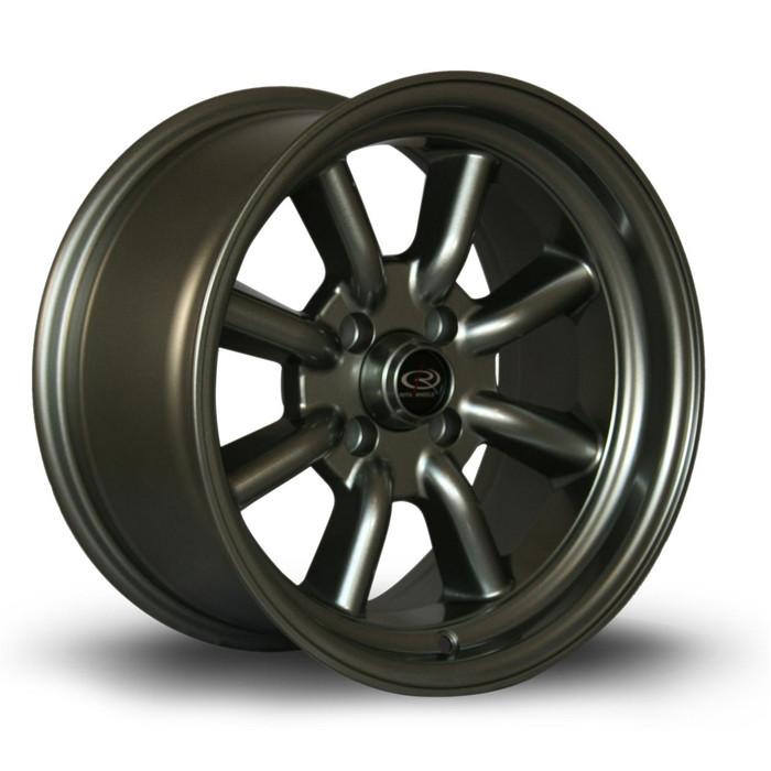 Rota RKR 15x8 ET10 4x100 Steelgrey srbpower.com