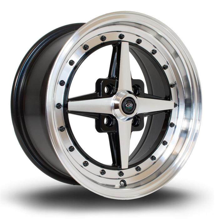 Rota Zero 15x7 ET35 4x100 PFBlack srbpower.com