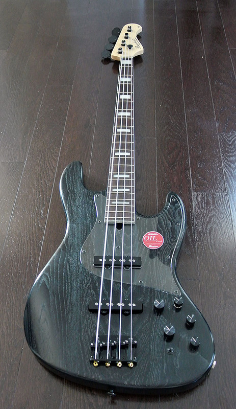Bacchus Craft Japan Series - STD-JB ASH4 ver.2 - 4 String Active Bass