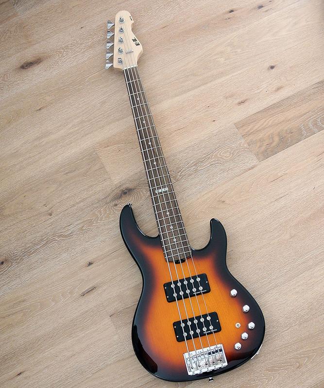ESP E-II AP-5 - Custom Shop ESP Japan 5 String Active Bass - As New Never Played