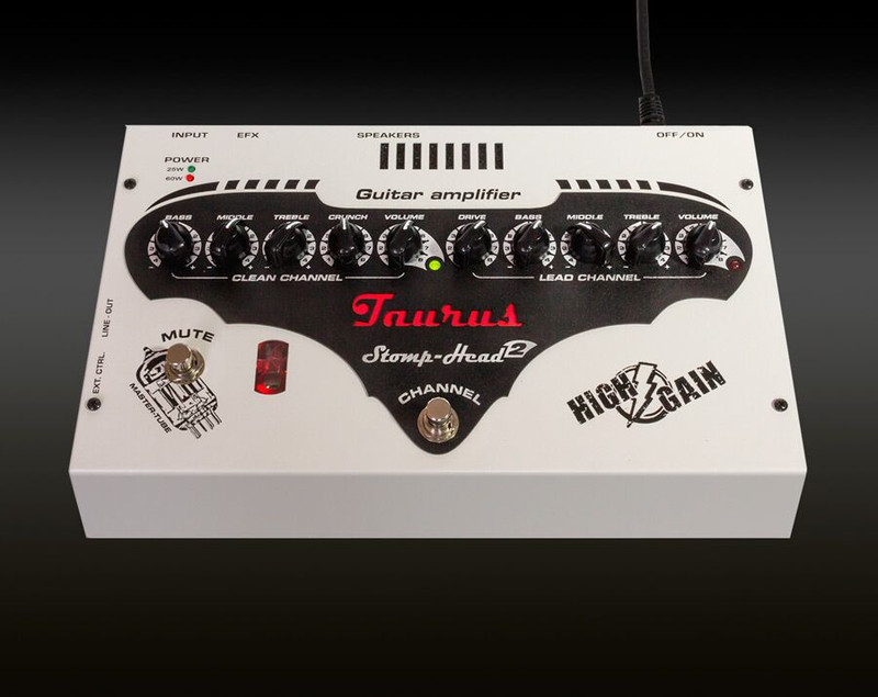 Taurus Stomp-Head 2.HG - High Gain 60 Watt Ultra light analog amplifier Master Tube Design
