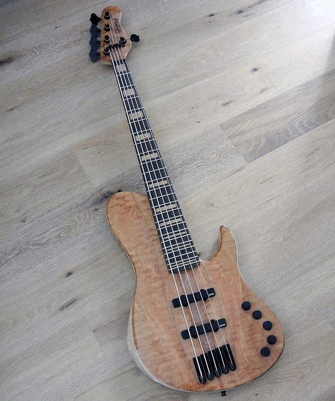 Grosmann Custom  Single Cutaway 5 string Bass - Custom model One Of a Kind