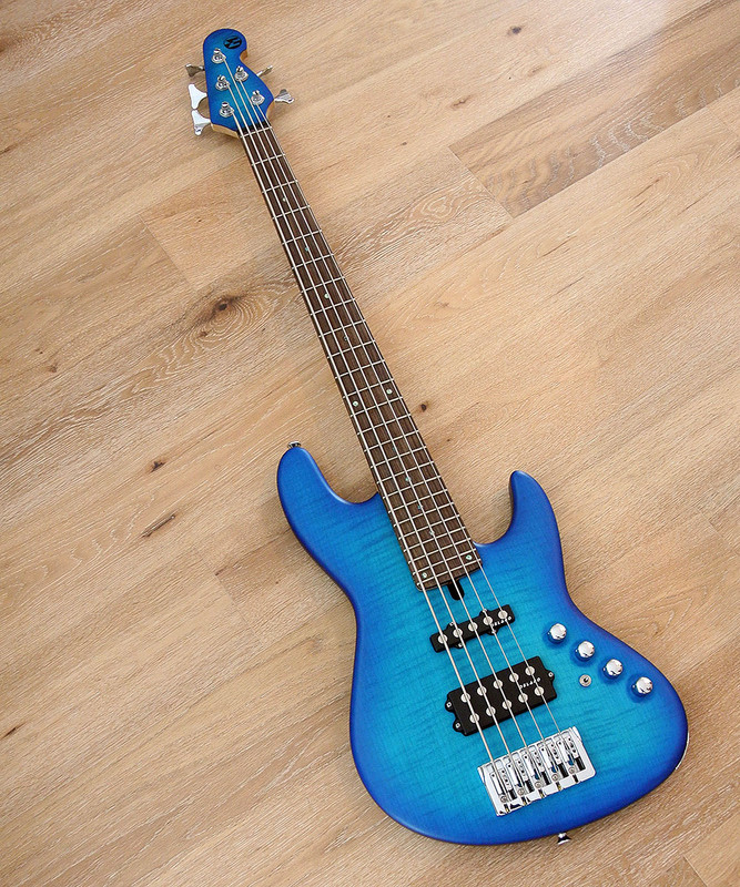 Maruszczyk Instruments - Elwood L 5a-24+ In Blue burst Finish