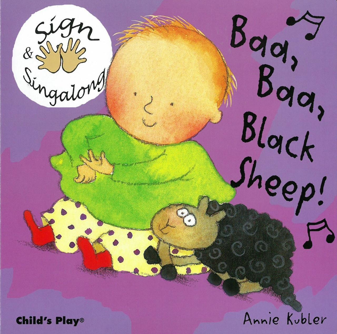 Baa Baa Black Sheep: Sign & Sing Along (Board Book) - Books By The ...