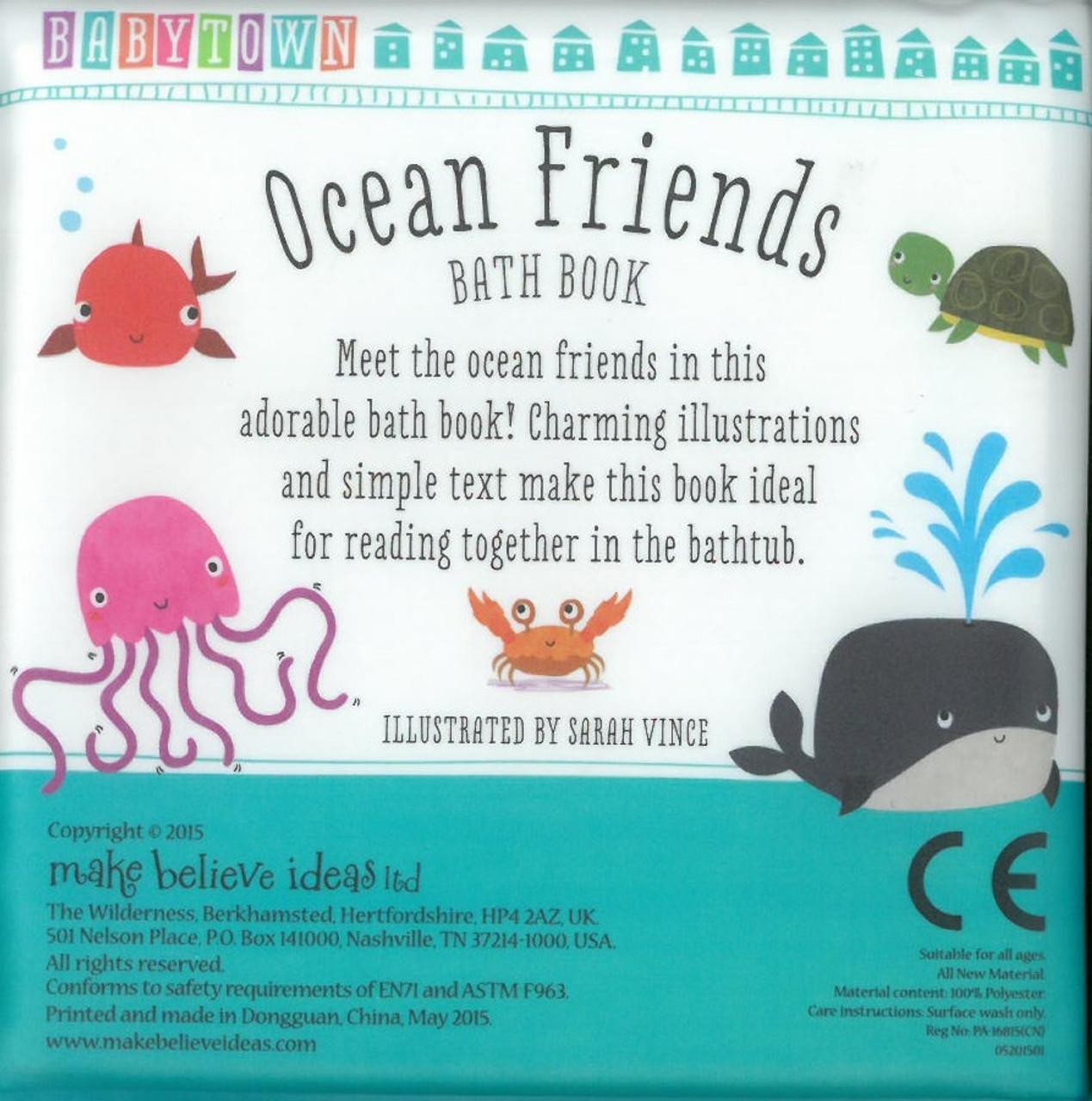 Ocean Friends: Babytown (Bath Book) - Books By The Bushel, LLC.